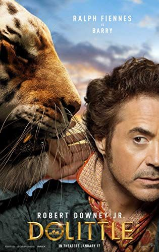 Ralph Fiennes And Robert Downey Jr In Dolittle 2020 Em 2020