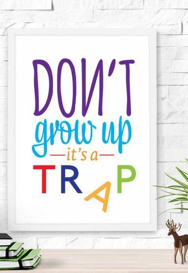 Kids Wall Quote Home Decor Idea Affiliate Art Room Decoration Quotes Ideas Wall Quotes Inspirational Quotes Motivation Wall Art Quotes