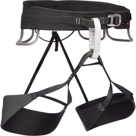 The Solution Series Consists Of Black Diamond S Sportier Climbing Harness And The Men S Solution Guide Harness Is Slightl Black Diamond Black Climbing Harness