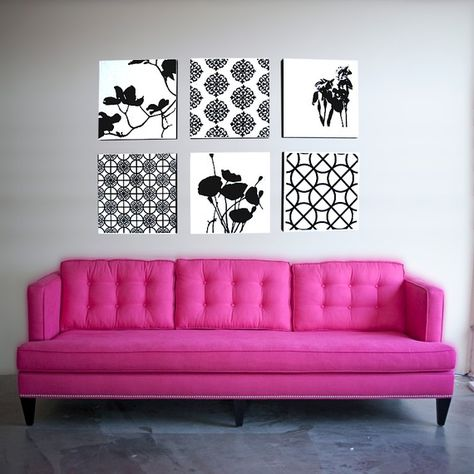Shopping For Unabashedly Pink and Pretty Sofas   Pink couch, Pink ...