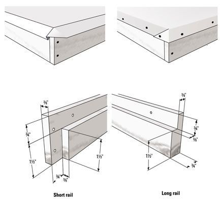 The Following Tables Break Down The Eight Frame Langstroth Bee Hive Into Its Individual Components And Provide Instruction Langstroth Hive Bee Hive Plans Hives