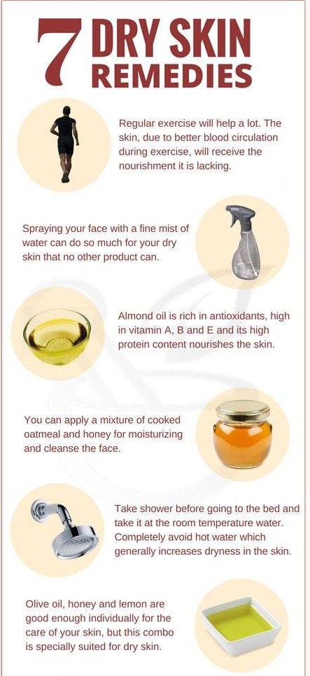 7 Natural Home Remedies For Dry Skin Diy Health Beauty Lifehack Dry Skin Remedies Dry Skin On Face Skin Remedies