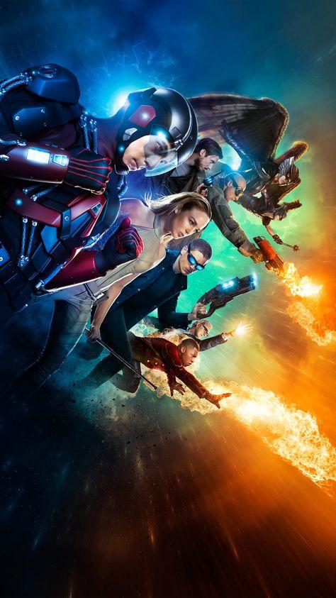 DC's Legends of Tomorrow Phone Wallpaper | Moviemania