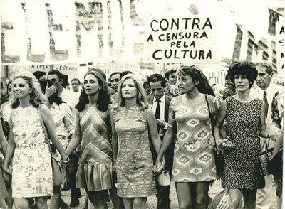 Mulheres Protestando Contra A Ditadura Militar No Brasil 70 S