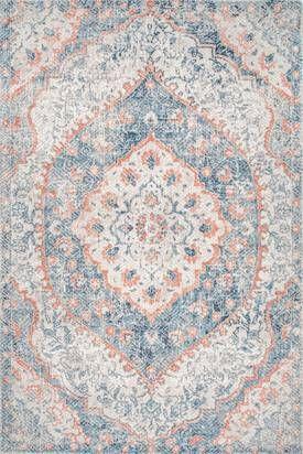 Rugs Usa Blue Ravina Vintage Oriental