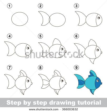 for draw games kids step-by-step to