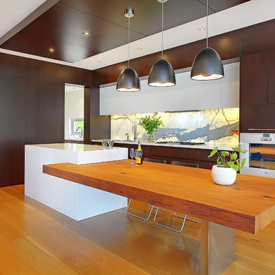 Image Result For Kitchen Island With Table Extension Kitchen Island Dining Table Modern Kitchen Island Kitchen Island With Table Attached