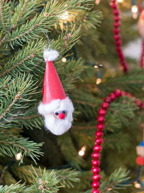 adornos navideños caseros para niños