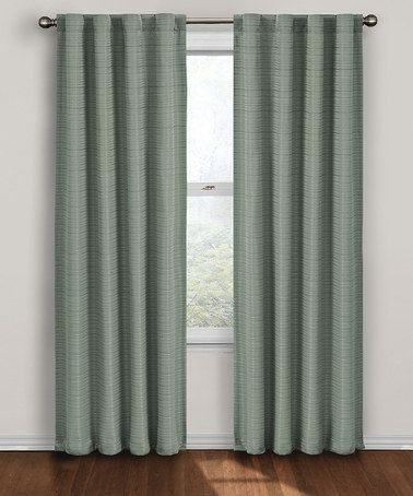 Take A Look At This Blue Twist Eclipse Blackout Curtain Panel By
