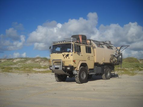 3a6b65a9b0 Super cool RV built by a couple of German nomads.