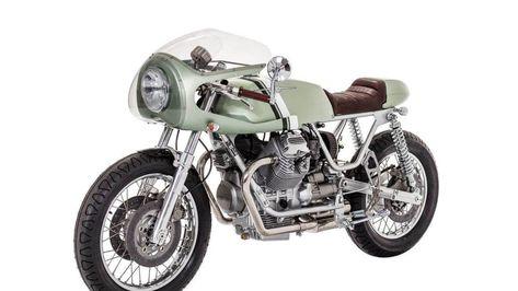 Moto Guzzi Nevada par Rua Machines