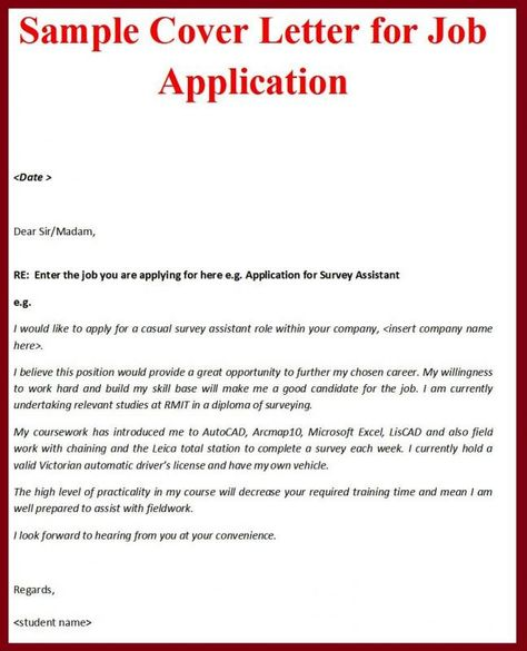 89 Best Cover Letters images in 2019 | Letter example ...