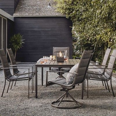 Henning 3pc Patio Bistro Set Off White Project 62 In 2020