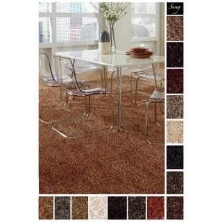 Shaw Solid Colored Shag Square Area Rug 12 X 12 Rugs
