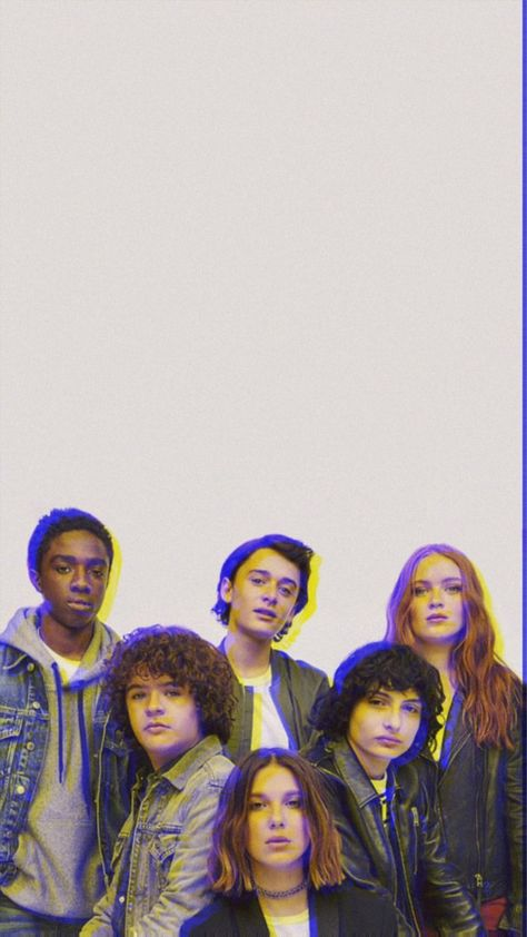 stranger things cast wallpaper