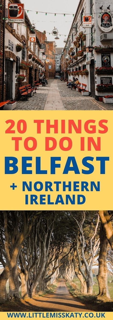 AD | 20 Fun Things To Do In Belfast and Northern Ireland