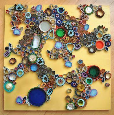 18++ Cuadros con objetos reciclados trends