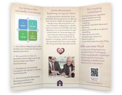 Produktvorschau Senioren Alltagsbegleitung Visitenkarten