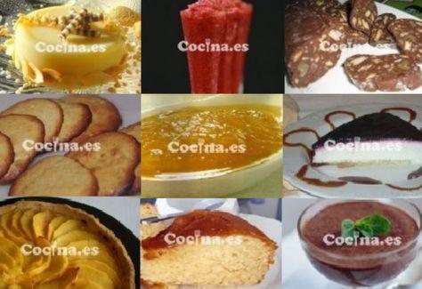 10 recetas de postres sin azúcar para diabéticos: http://www.blogcocina.es/2011/11/14/10-recetas-de-postres-sin-azucar-para-diabeticos/