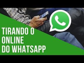 Como Usar Whatsapp Sem Aparecer Online Youtube Com Imagens