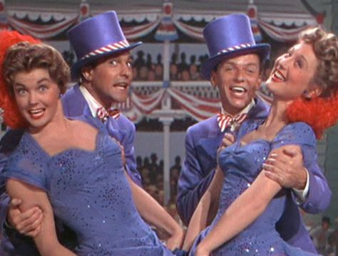 """""""Take Me Out to the Ball Game"""" - Gene Kelly, Frank Sinatra, Esther Williams and Betty Garrett"""