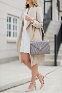 Trench coat weather 3 this ysl bag is to die for 3 check out