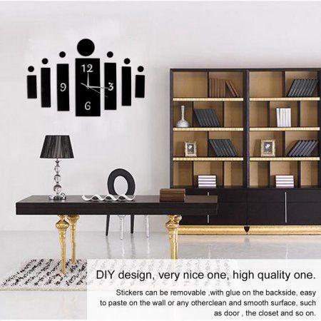 unique diy 3d mirror wall stickers living room bedroom 3d wall