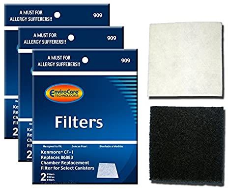 Envirocare Foam Filters To Fit Kenmore Sears Progressive Cf1 Progressive Amp Whispertone Panasonic Vacuum Cleaners In 2020 Panasonic Vacuum Kenmore Vacuum Filter