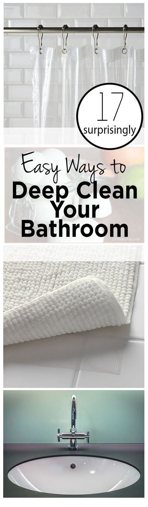 17 Surprisingly Easy Ways to Deep Clean Your Bathroom