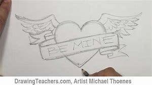 Boyfriend Heart Drawing