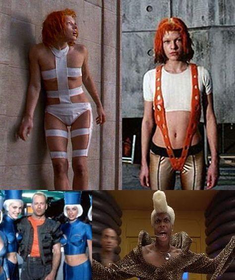 Ну а наряды руби рода напоминают гипертрофированную версию сценических костюмов принса, которому эскизы дизайнера, по иронии судьбы, показались слишком женственными, что и стало одной из причин его отказа от участия в проекте.