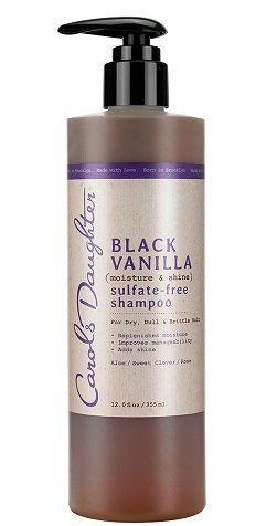 Carols Daughter Black Vanilla Moisture Shine Sulfate Free Shampoo For Dry Dull Or Brittle Hair Shampoo Free Carols Daughter Products Sulfate Free Shampoo