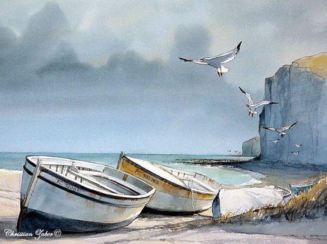 Christian Eurgal Cerca Con Google Paysage De Mer Peinture