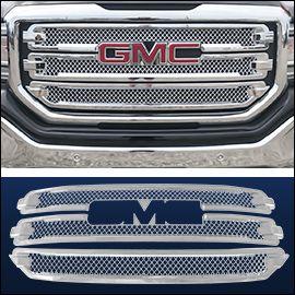 Cci Grille Overlay Chrome Abs Gmc Sierra 2016 2018 Gmc Trucks
