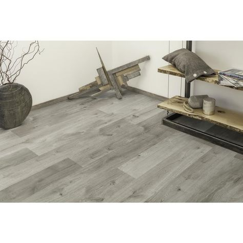 Home Decorators Collection Castle Gray Oak 1 2 In Thick X 6 26 In Wide X 50 79 In Len Engineered Hardwood Flooring Engineered Hardwood Wood Floors Wide Plank