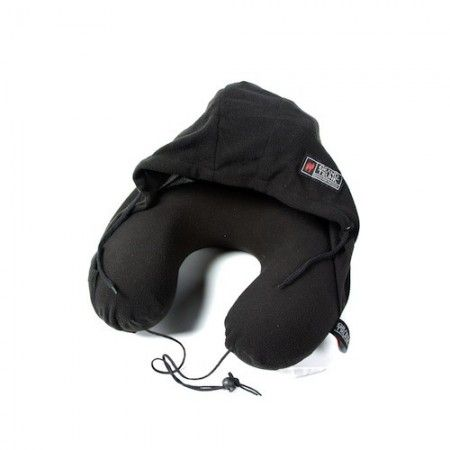 We love the Grand Trunk hooded travel pillow for road trips and camping!