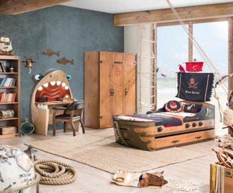 Pirate Room Decor, Marine Style Furniture