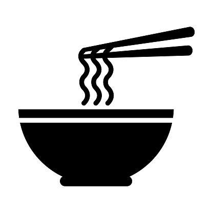 Ramen Noodle Icon Noodles Icon Ramen Noodles