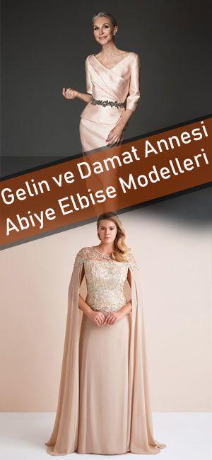 Gelin Ve Damat Annesi Abiye Elbise Modelleri Elbise Gelinlik The Dress