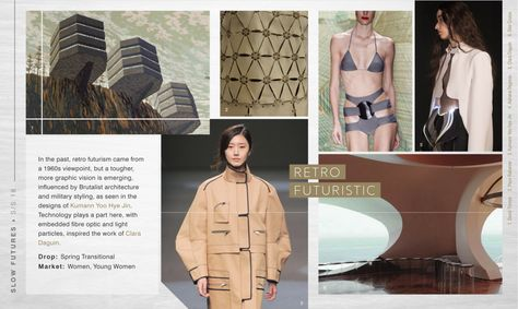 WGSN Women's Forecast S/S 18: SLOW FUTURES | Thea Nowell