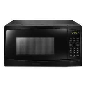 Magic Chef Retro 0 7 Cu Ft Countertop Microwave In Black