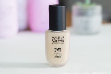 Make Up Forever Water Blend Foundation Review Makeup Foundation Makeup Forever