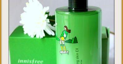 Innisfree Green Tea Balancing Skin Ex Review Skin Balancing Green Tea Toner Paraben Free Products