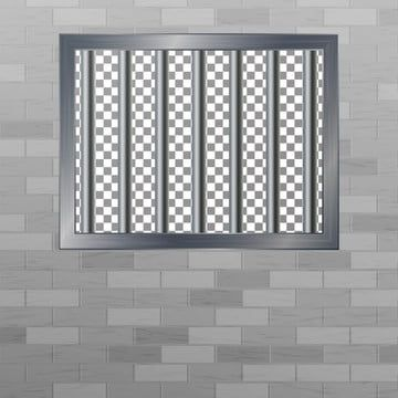 Window In Pokey With Bars Brick Wall Vector Jail Break Concept Prison Grid Isolated Prison Clipart Prison Window Png And Vector With Transparent Background F In 2021 Brick Wall Iphone Background