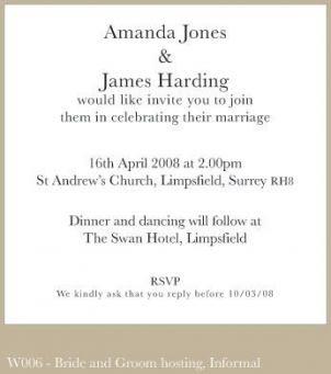 44 Ideas For Wedding Invitations Wording Couple Hosting Etiquette Wedding Invitation Wording Invitation Wording Sample Wedding Invitation Wording