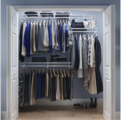 Closetmaid Shelftrack 7 Ft To 10 Ft 13 4 In D X 120 5 In W X
