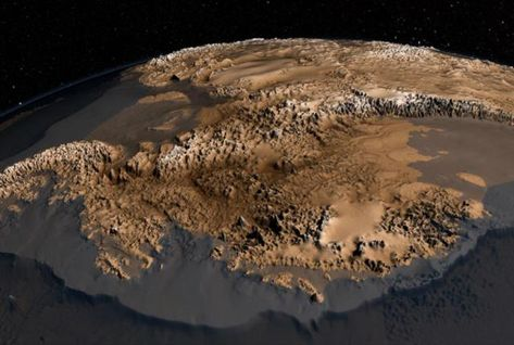 What Antarctica Looks Like Under All That Ice