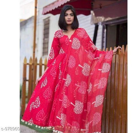 Indian kurta dress With dupatta pant Flare Top Tunic Set blouse Combo Ethnicff33
