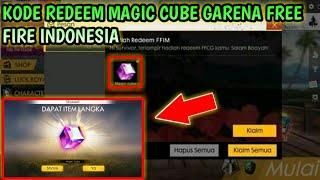 MAGIC CUBE GRATIS EVENT RESMI !!! KODE REDEEM FREE FIRE