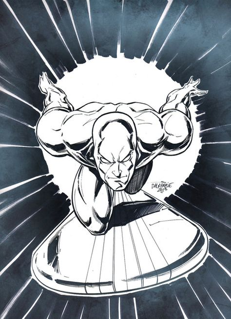 The Silver Surfer by Scott Dalrymple